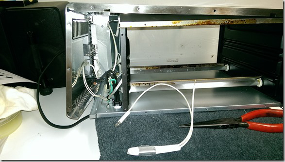 Breville Oven Disassembled Rear View